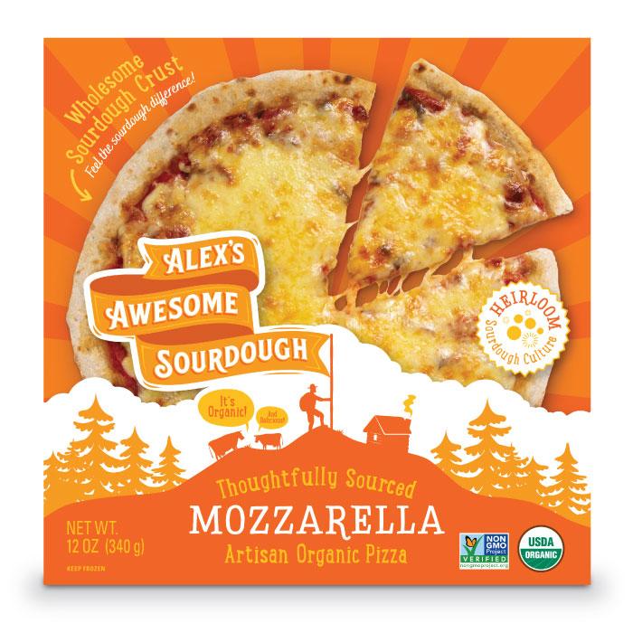 Mozzarella Sourdough Pizza